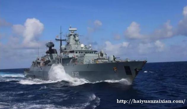 德国护卫舰欲停靠中国港口遭拒绝,媒体曝光其最新动向